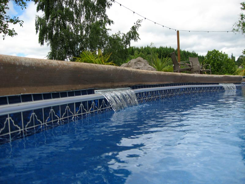 Affordable pools llc swimming pool cascade options from for Affordable pools