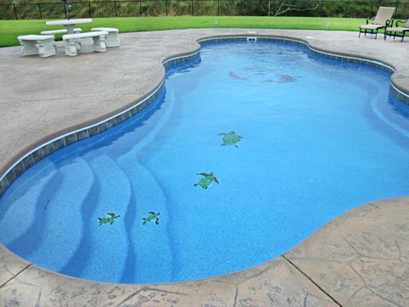 Affordable pools llc swimming pool mosaic tile options for Affordable pools lafayette louisiana