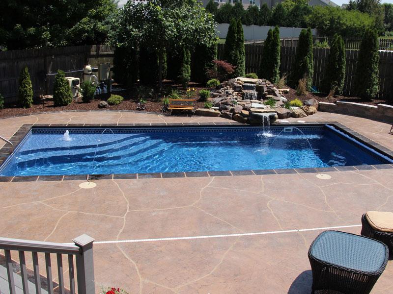 Affordable Pools Llc Rectangle Viking Pools Models