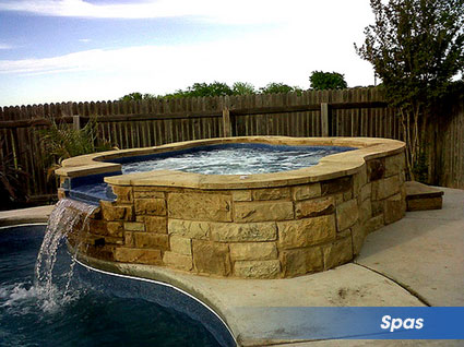 Spas for your swimming pool
