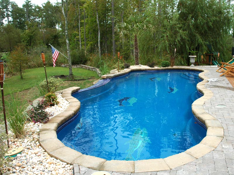 Affordable Pools Llc Swimming Pool Vanishing Edge